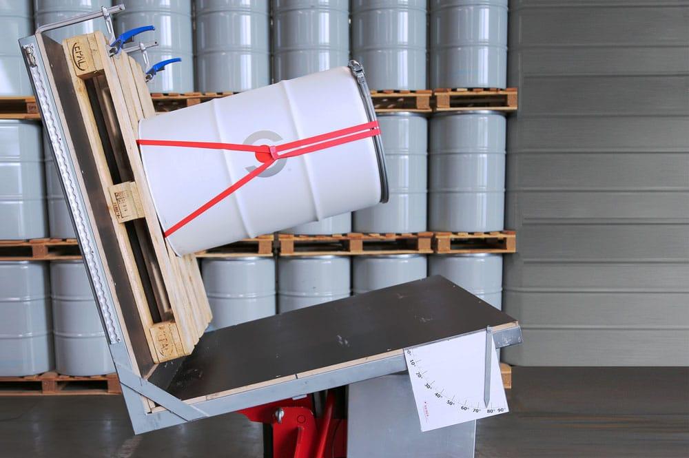 mobile tilt-angle test stand