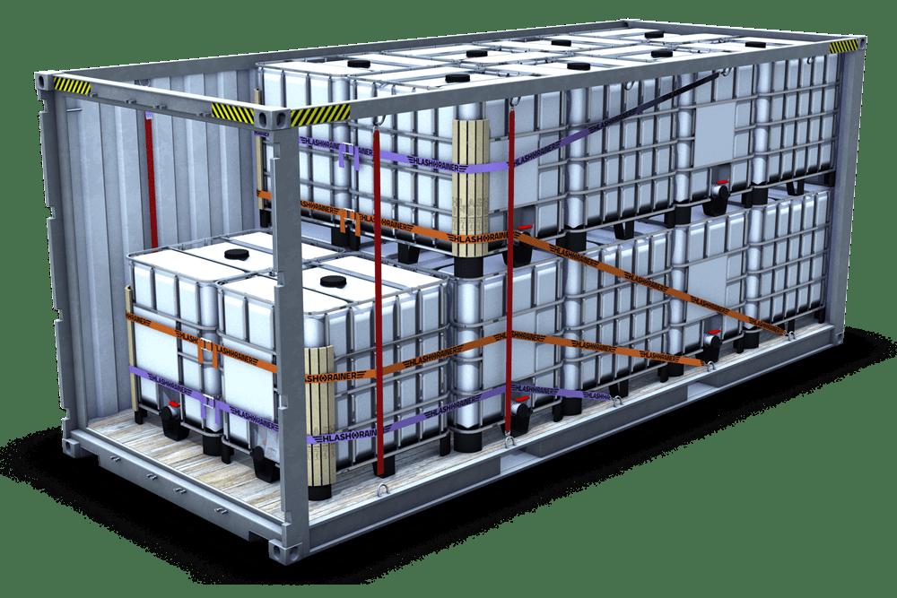 CRS Container Rückhaltesystem IBC